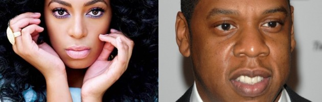 "Jay-Z & Solange ""no play nice nice in sand box"""