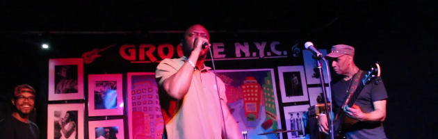 COMATOZE performs with LINARDS MANY MOODS @ NYC's GROOVE