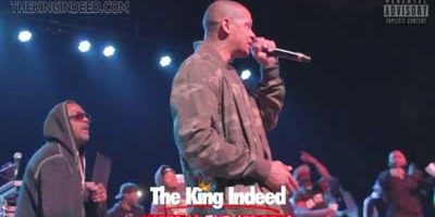 HITTING THE STREETS [Lord Tariq and Peter Gunz perform Deja Vu – Uptown Baby]