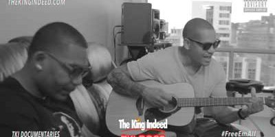 TKI DOCS [PETER GUNZ sings and plays the guitar]
