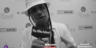 GENERAL STEELE of Smif-N-Wessun at Wendy Williams All White Party