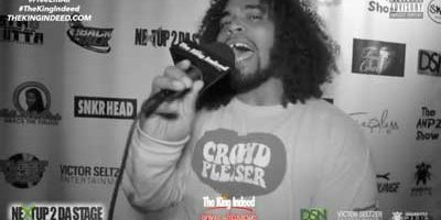 Hip Hop artist CHRIS RIVERS at Next Up 2 Da Stage event
