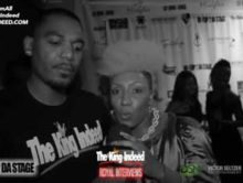 Harlemz First Lady at Next Up 2 Dat Stage event